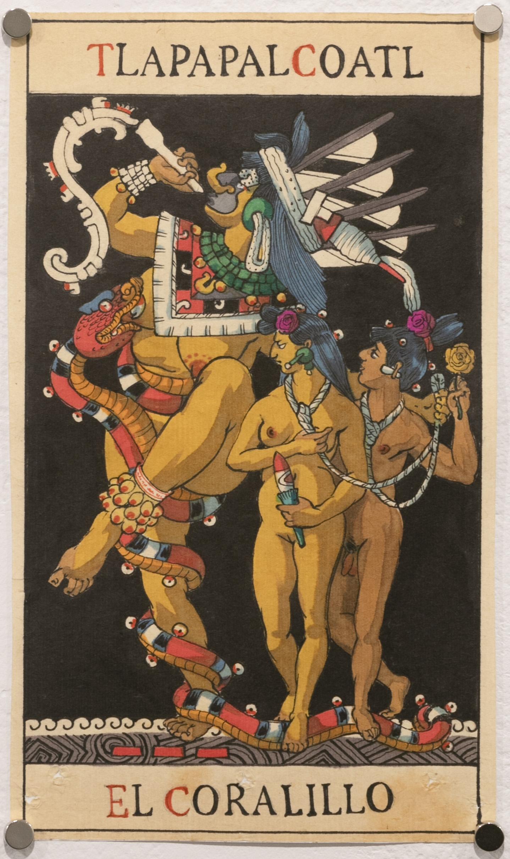 El Coralillo - Tlapapalcoatl (Tarot Mexicayotl)