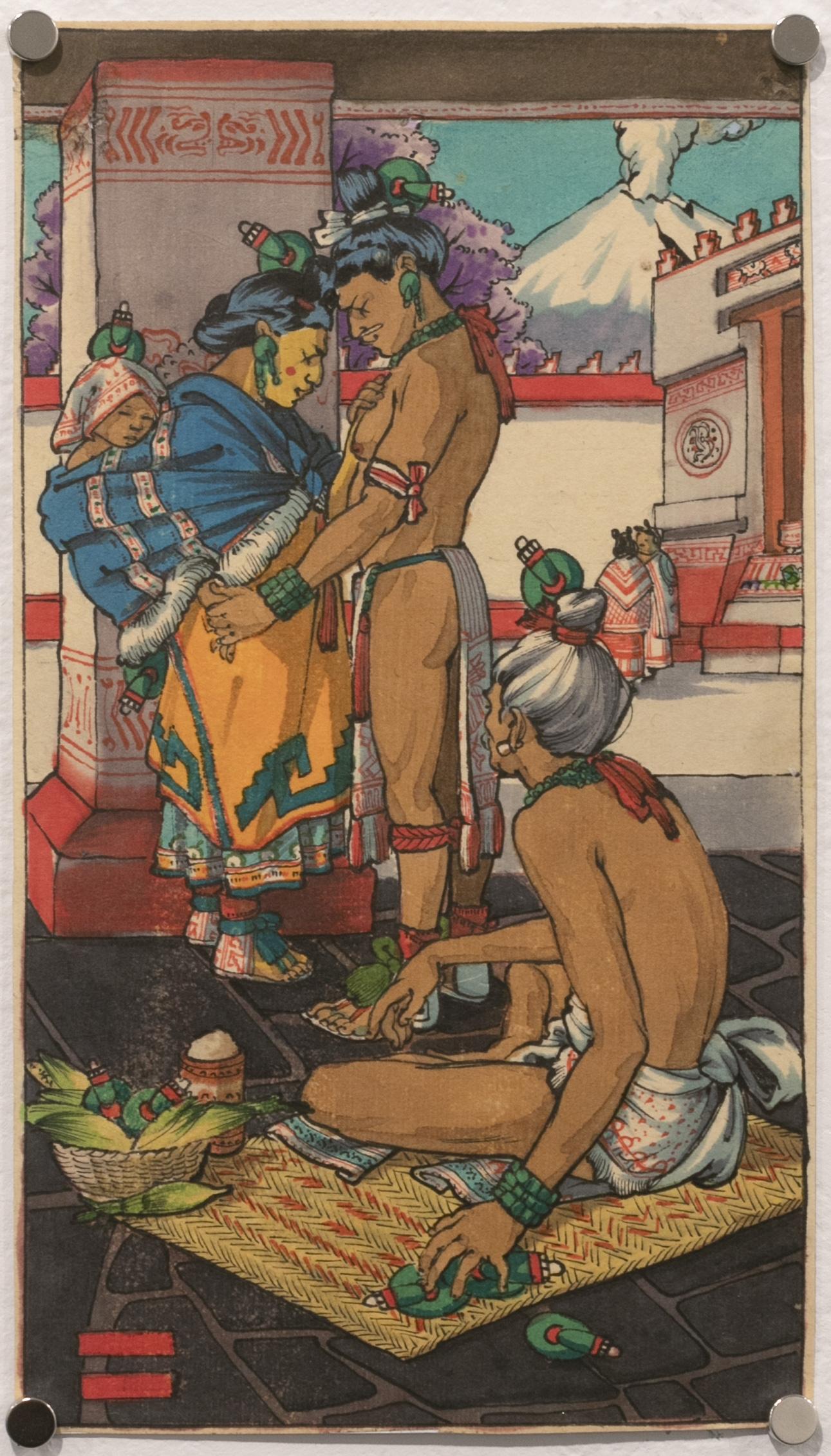 Mahtlactli Chalchihuitl, Ten of Jade (Tarot Mexicayotl)